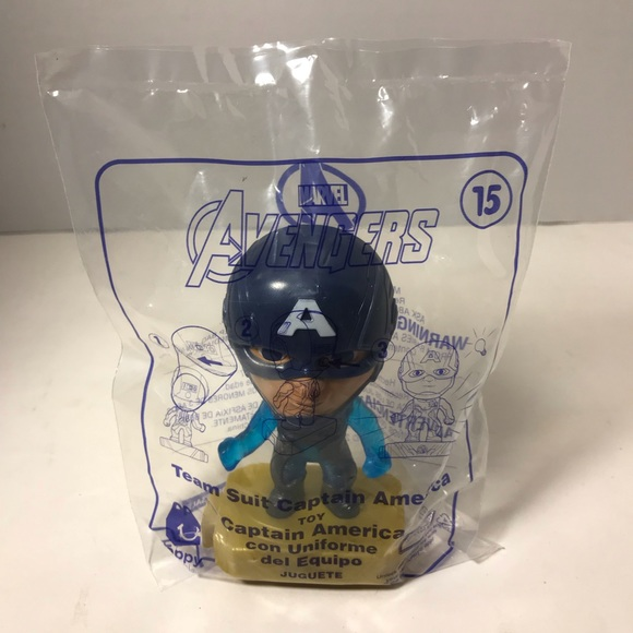 mcdonalds Other - Happy Meal Avengers Team Suit Captain America #15